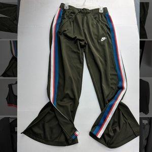 Womens Nike Sportswear Logo Pants w Slits Size XL